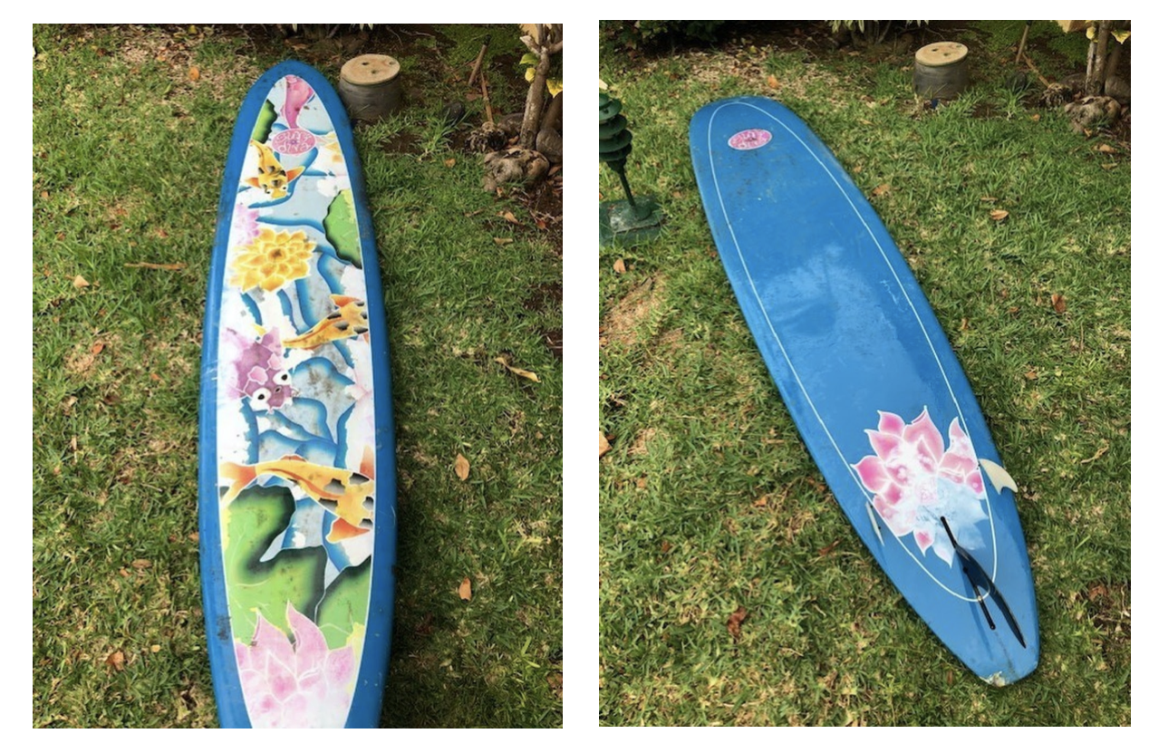 Coast Guard Seeks Help Identifying Owner of Surfboard Found in West Maui