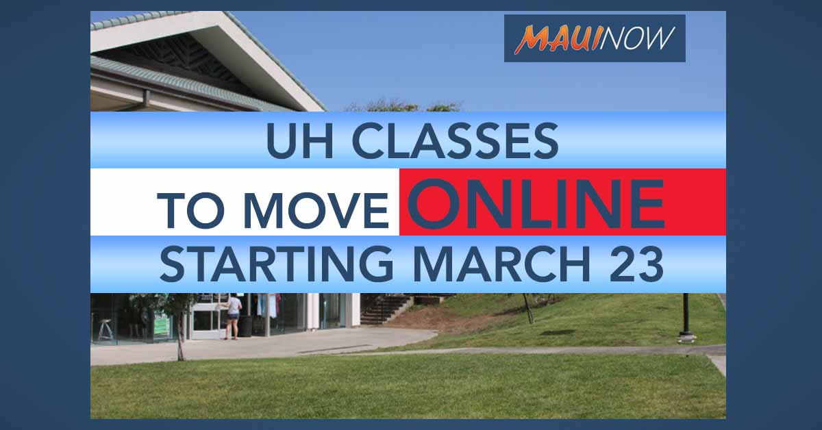 UH to Move Classes Online After Spring Break Amid COVID-19 Concerns