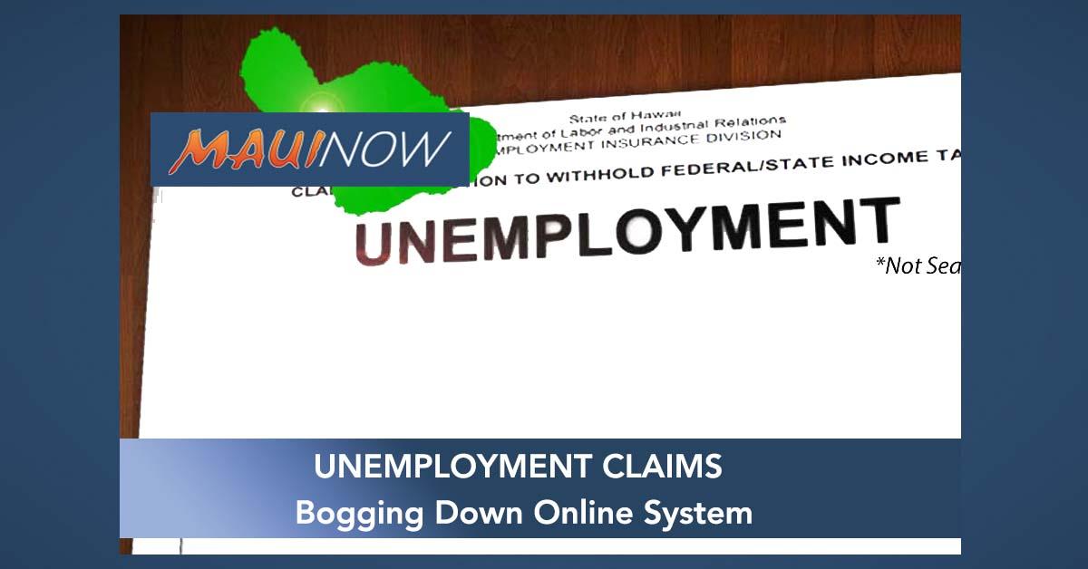 Unemployment Claims Bog Down Online System