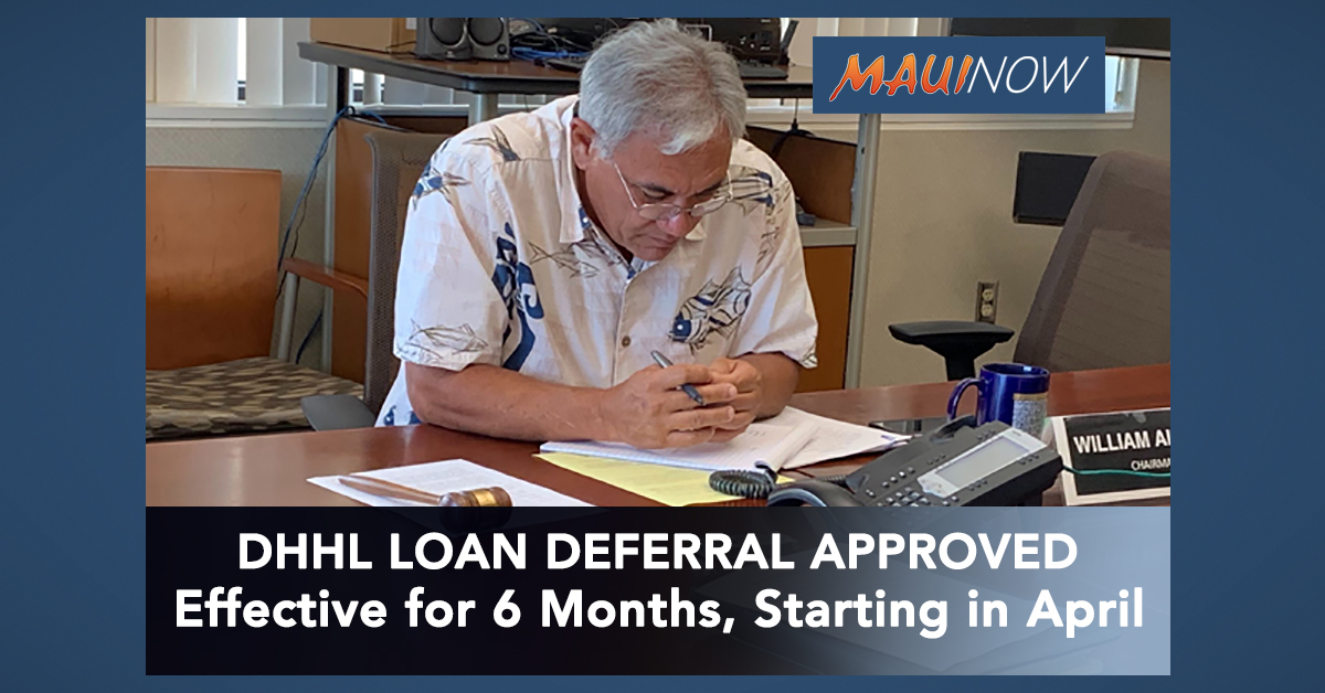 Hawaiian Homes Commission Approves DHHL Loan Deferral