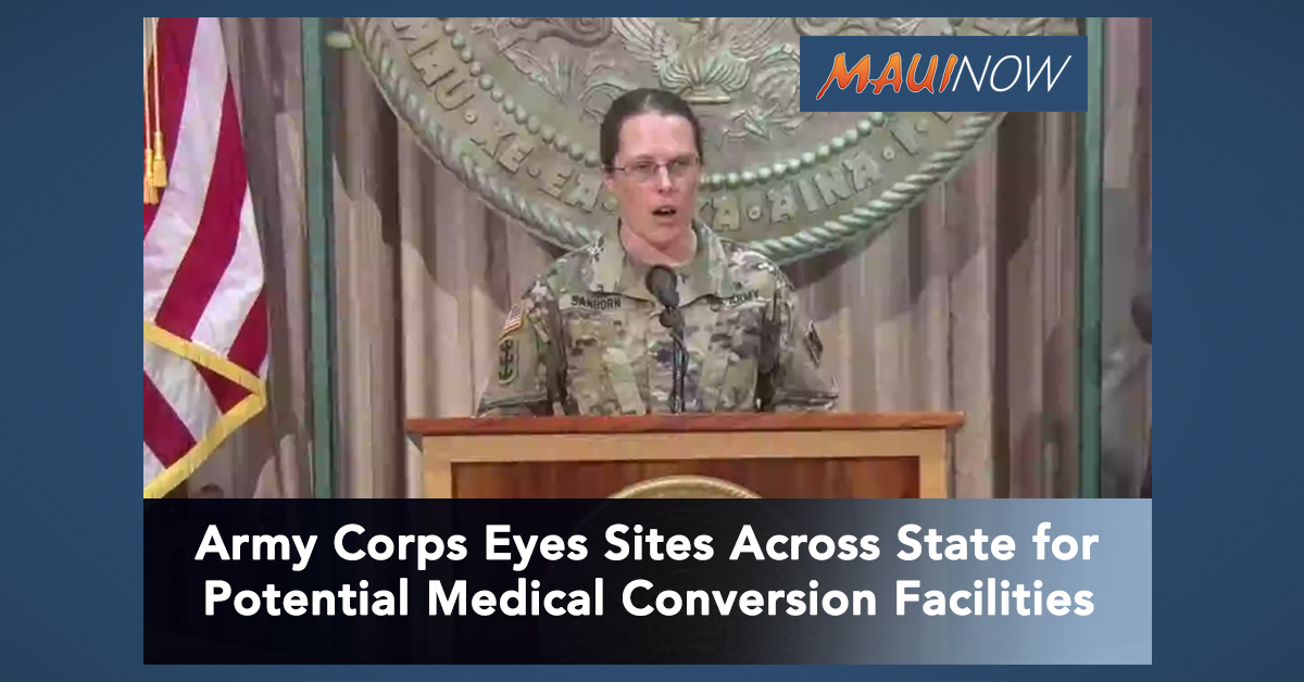 Army Corps to Scope Out Potential Conversion Facility For Overflow Medical Care on Maui