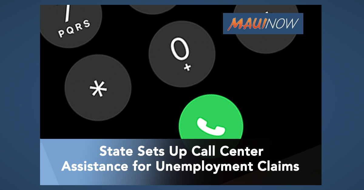 Call Center Launched to Field Unemployment Claims