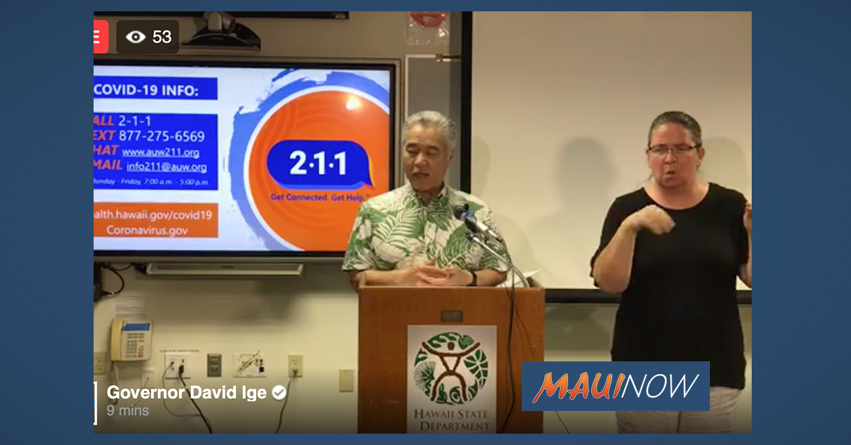 New Surveillance Testing for COVID-19 Announced by Hawai'i Health Dept.