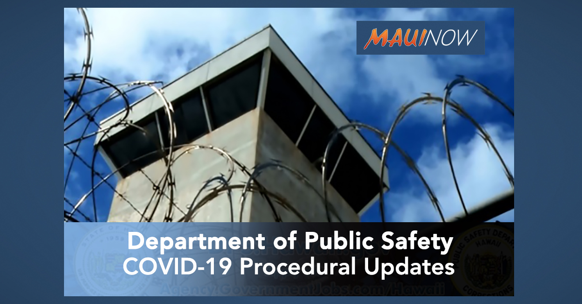 Department of Public Safety COVID-19 Procedural Updates