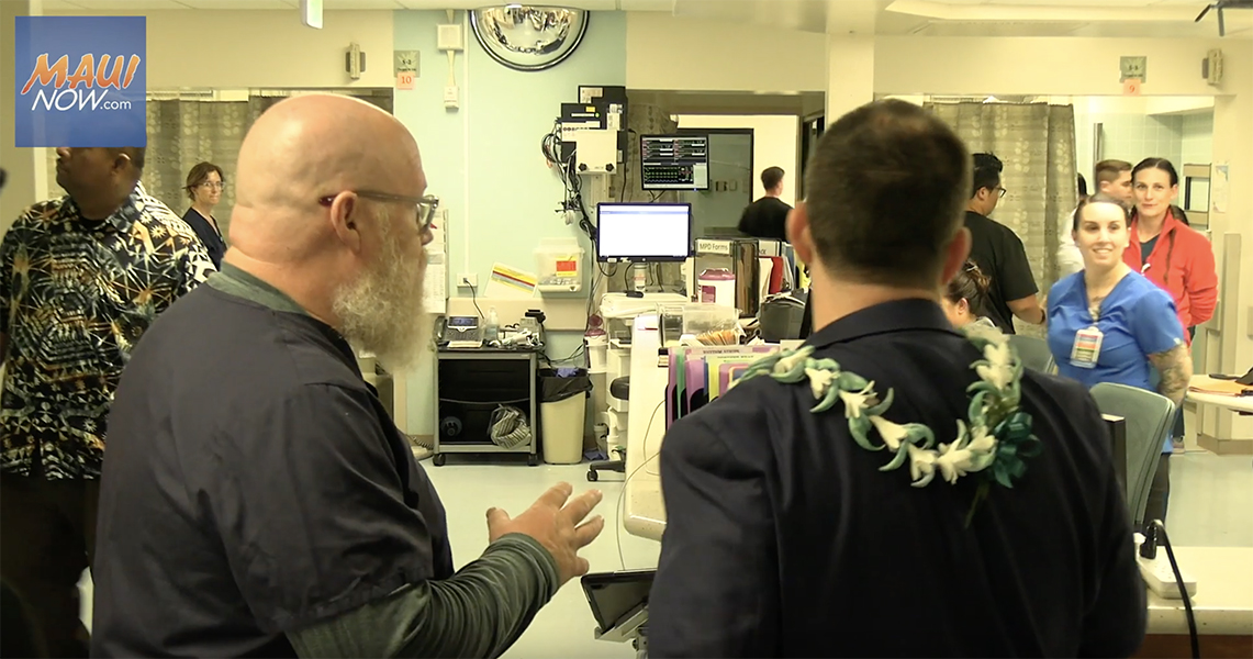 Maui Hospital and District Health Officials are Guests on Mayor's TV Show