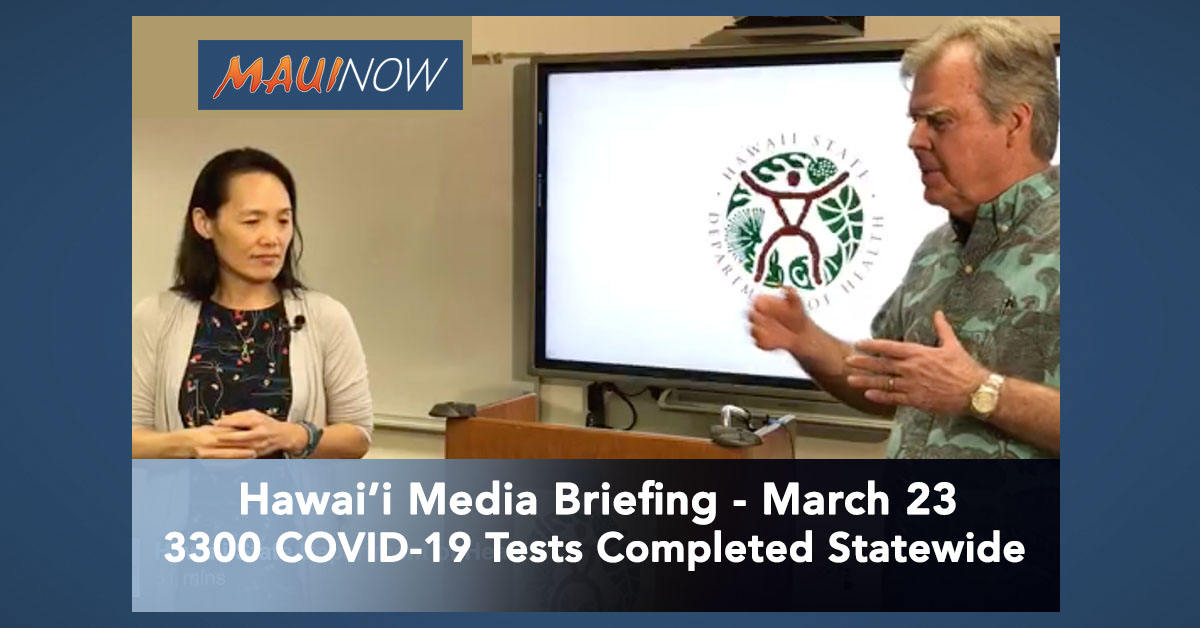 VIDEO: State Media Briefing on COVID-19
