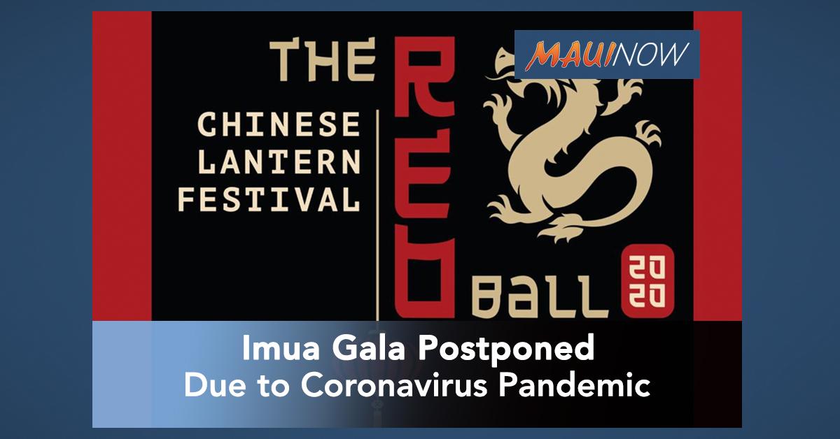 Imua Gala Postponed Due to Coronavirus Pandemic