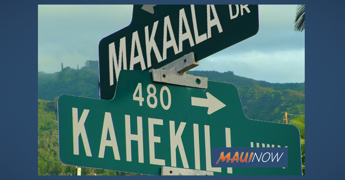 Traffic Advisory: Kahekili Highway Temporary Closure Due to Flooding