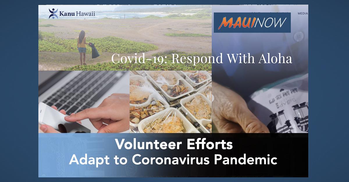 Volunteer Efforts Adapt to Coronavirus Pandemic