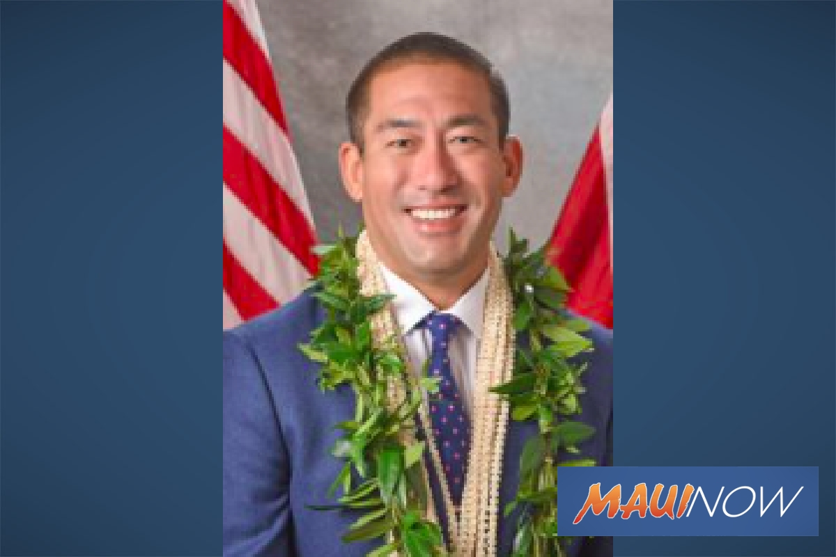 Kawakami to Deliver Kaua'i State of The County Online Amid Concerns Over Coronavirus Spread