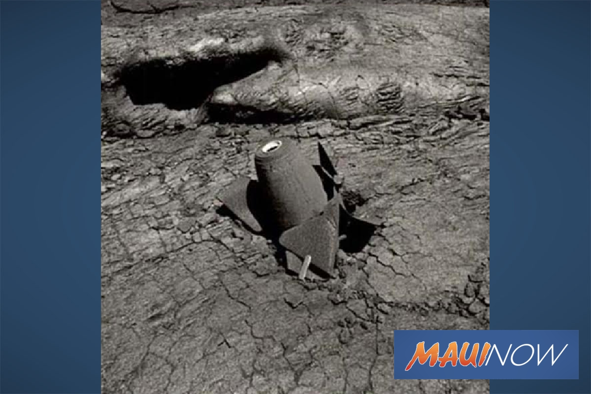 USGS: Old Bombs Found on Mauna Loa