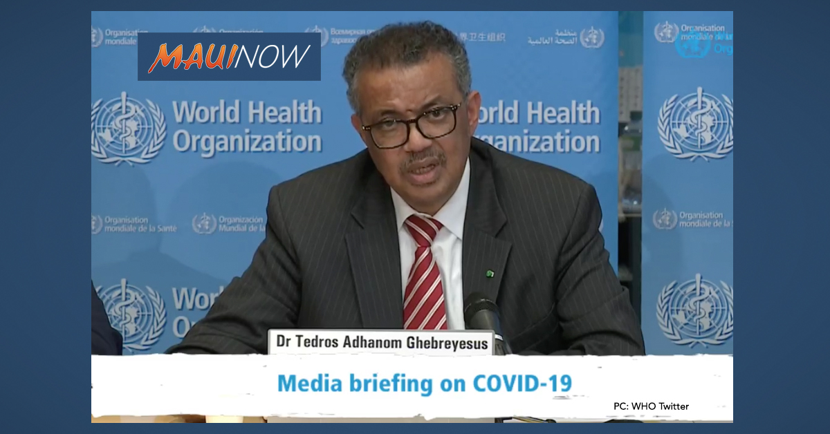 World Health Organization Declares COVID-19 is Now a Pandemic