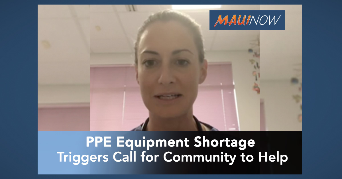 PPE Equipment Shortage Triggers Call for Community to Help