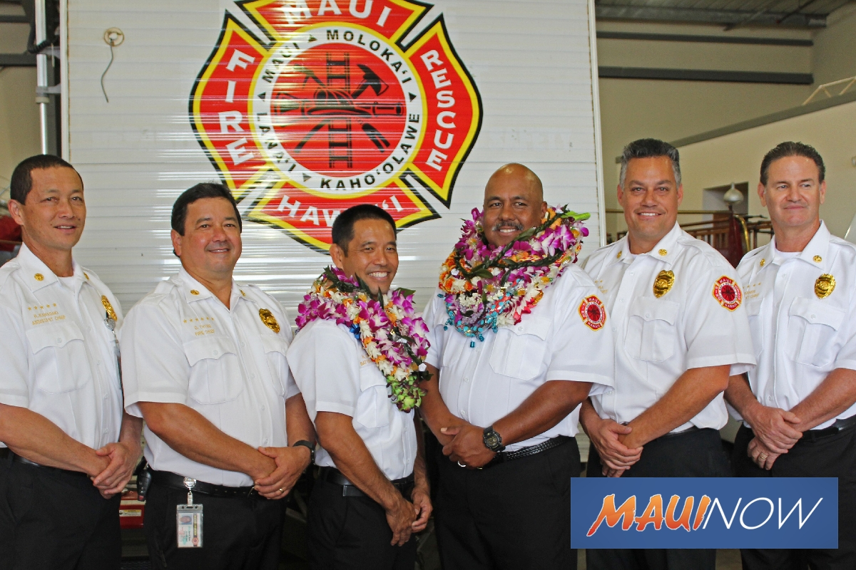 Lindo, Sakamoto Promoted to Battalion Chief