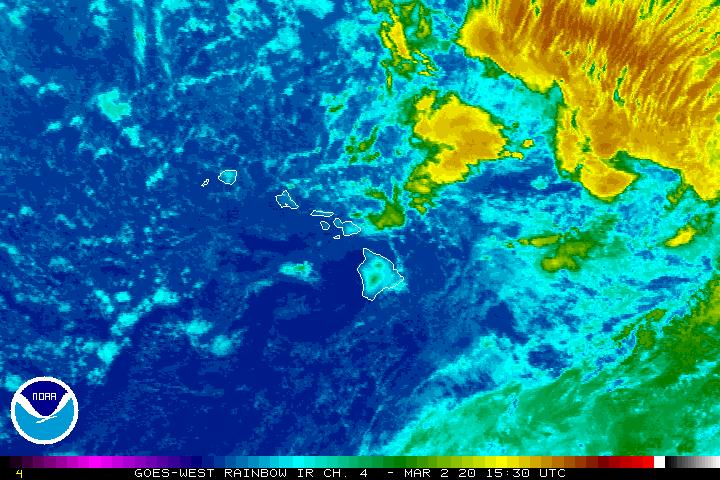 Flood Watch Through Tuesday as Kona Low Forms West of Kaua'i