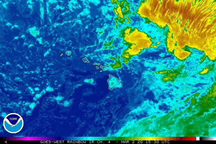 Flood Watch Through Tuesday as Kona Low Forms West of Kaua'i