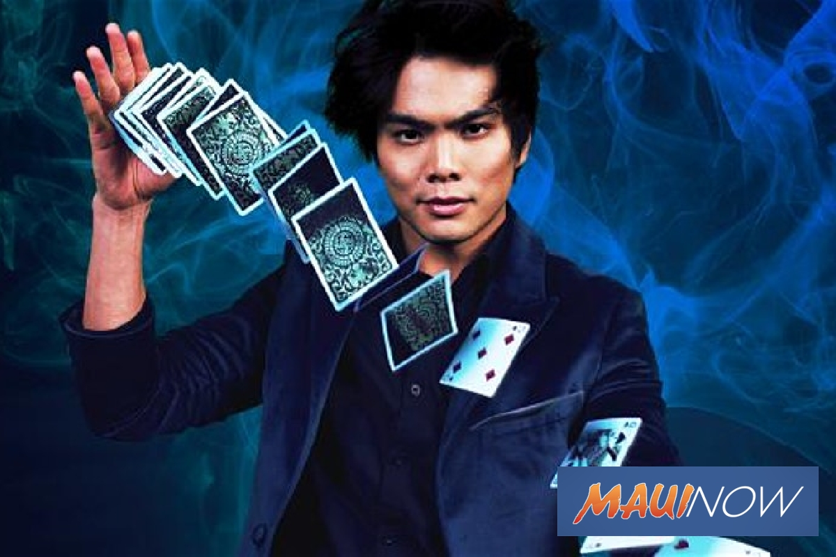 Event Postponed: America's Got Talent Star Shin Lim Coming to Maui