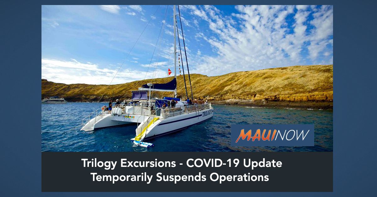 Trilogy Excursions Suspends Operations in Response to Coronavirus