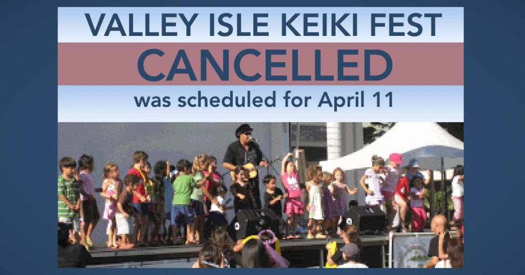 Maui's Valley Isle Keiki Fest Cancelled Amid COVID-19 Concerns
