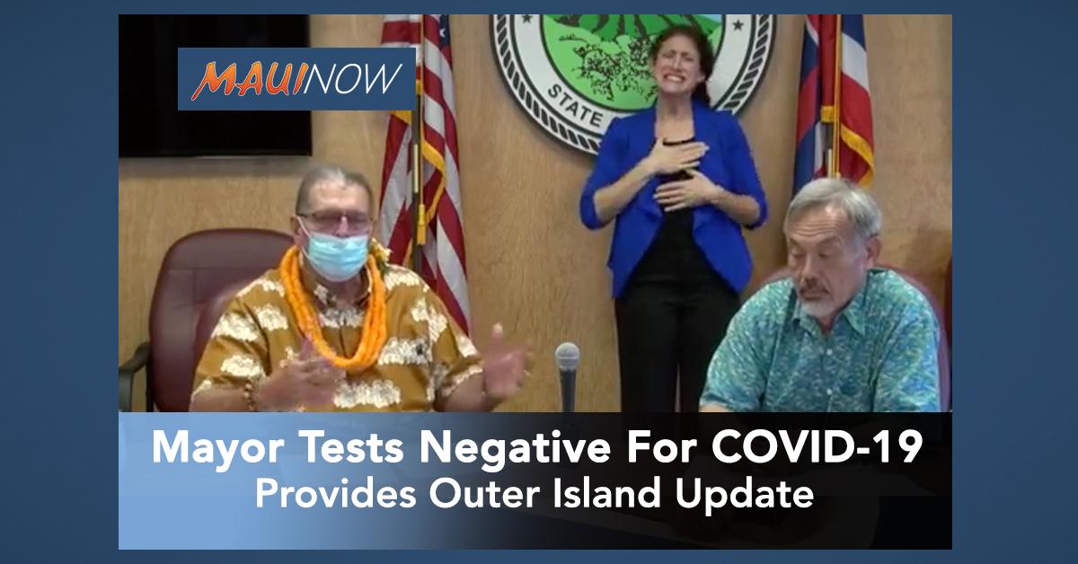 Mayor Victorino Tests Negative For COVID-19