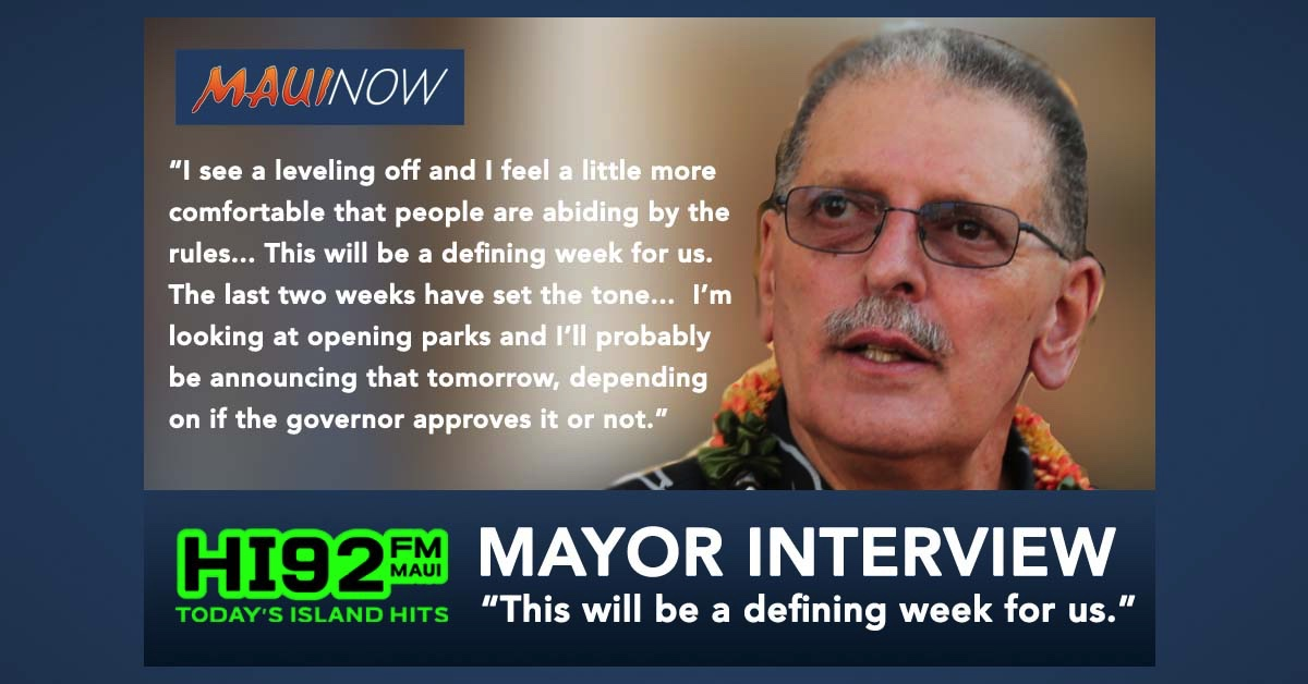 "Mayor Victorino Interview: ""This Will Be A Defining Week For Us"""