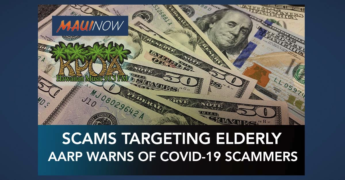 AARP: Elderly Residents Target of COVID-19 Scams