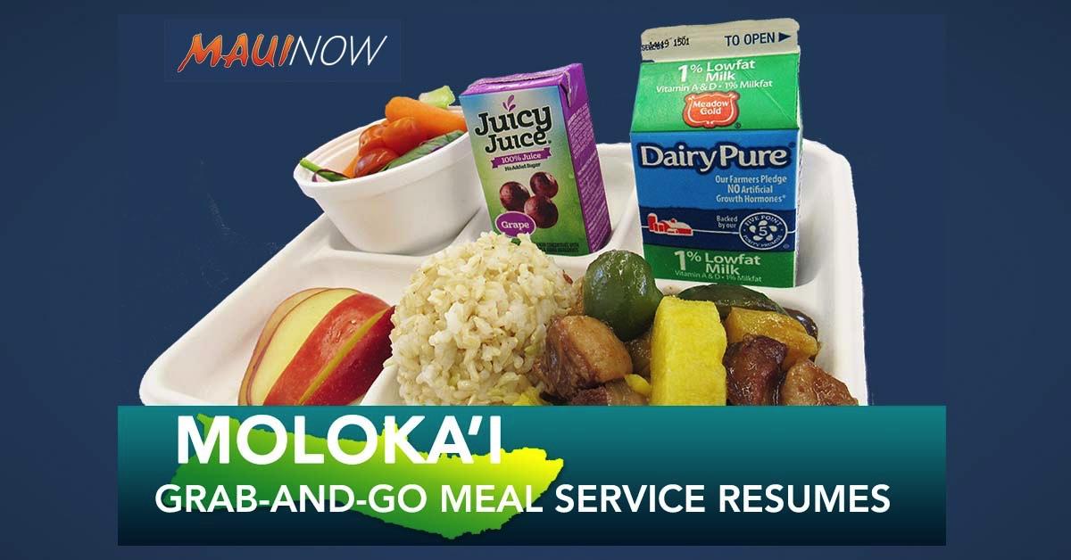 Moloka'i Grab-and-Go Service Reopens