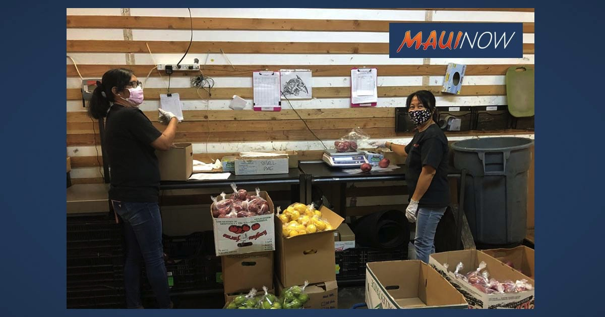 Maui Food Hub Launches to Support Farmers Through COVID-19 and Beyond