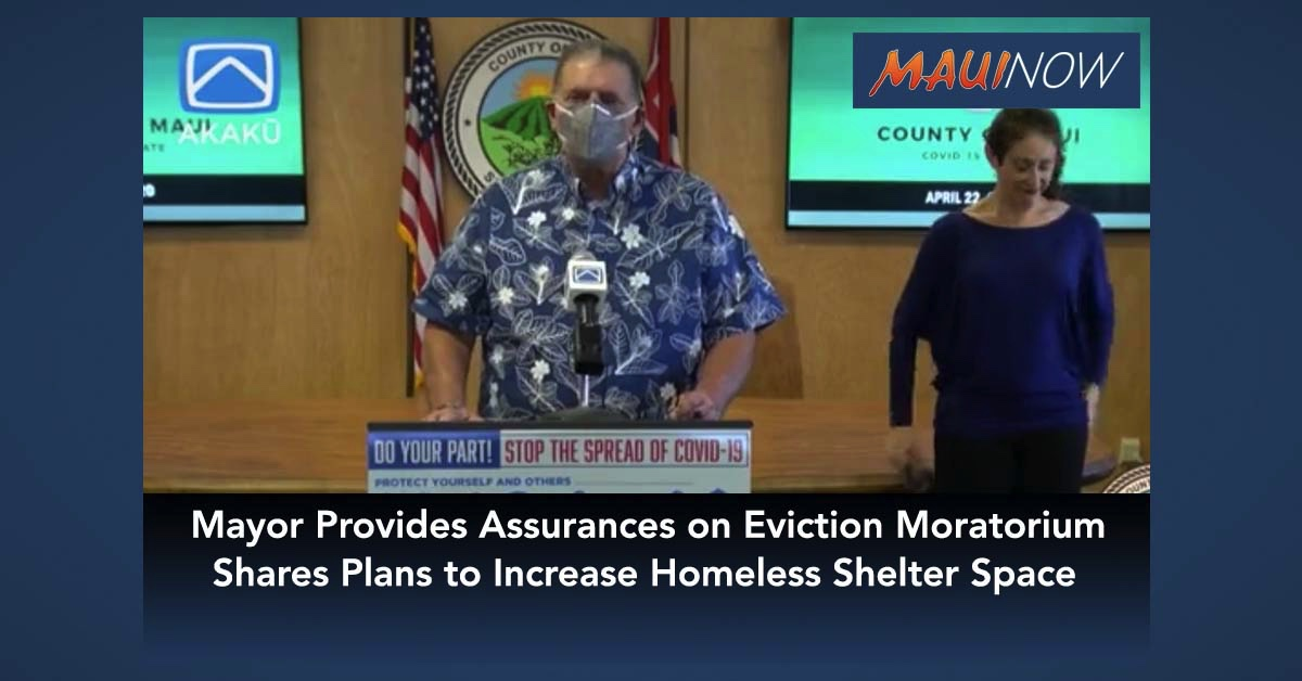Mayor Provides Assurances on Eviction Moratorium, Shares Plans to Increase Homeless Shelter Space
