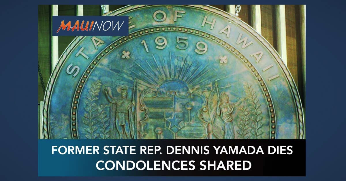 Condolences Shared on Death of Former State Rep. Dennis Yamada