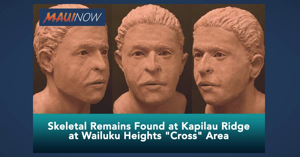 Police Seek Help in ID of Skeletal Remains Found Nearly 40 Years Ago at Kapilau Ridge in Wailuku