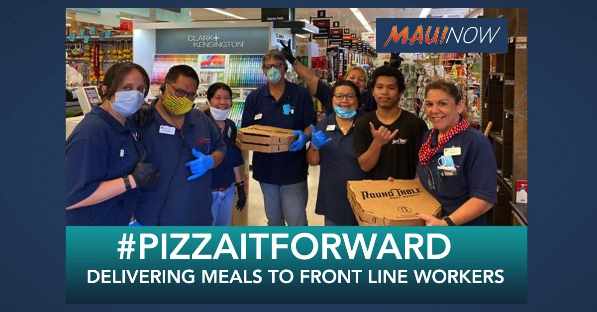 #PizzaItForward: Round Table Pizza Delivers Meals to Front Line Workers