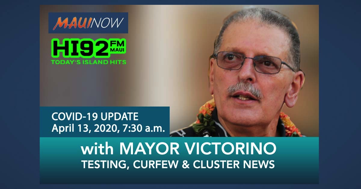 Mayor Interview: Testing, Curfew and Cluster Updates