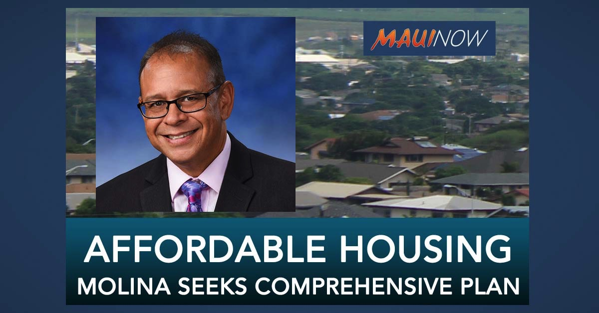 Councilmember Molina Requests a Comprehensive Affordable Housing Plan
