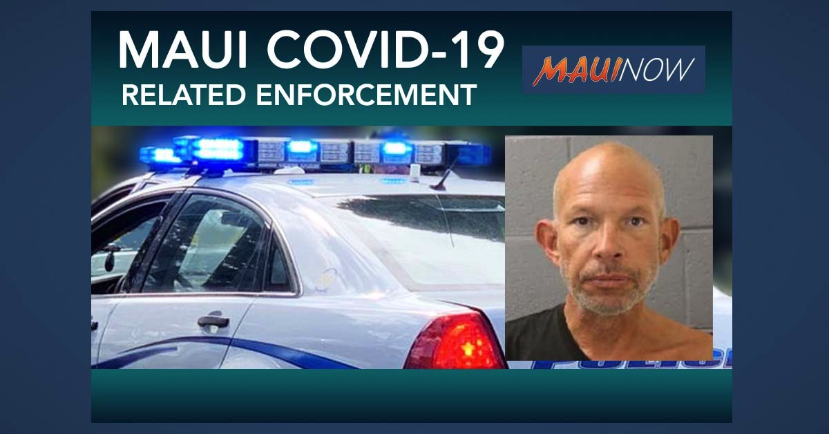 Maui Police Arrest Six, Issue 101 Citations Related to COVID-19 Enforcement