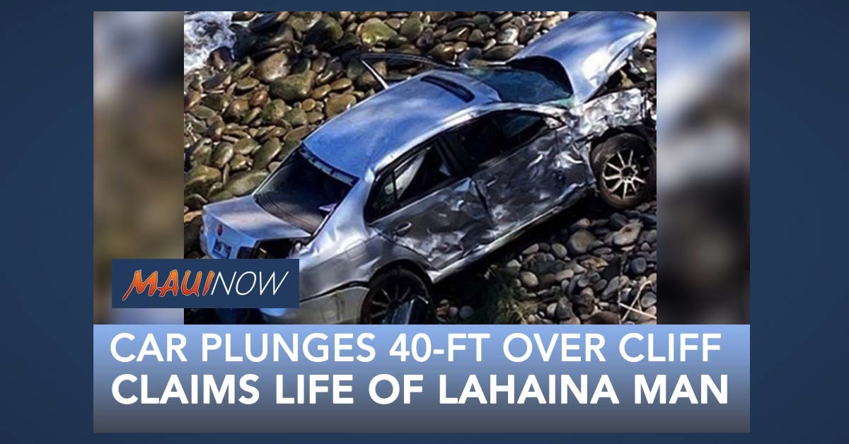 Fatal Accident: Vehicle Over Cliff Near DT Fleming, Maui