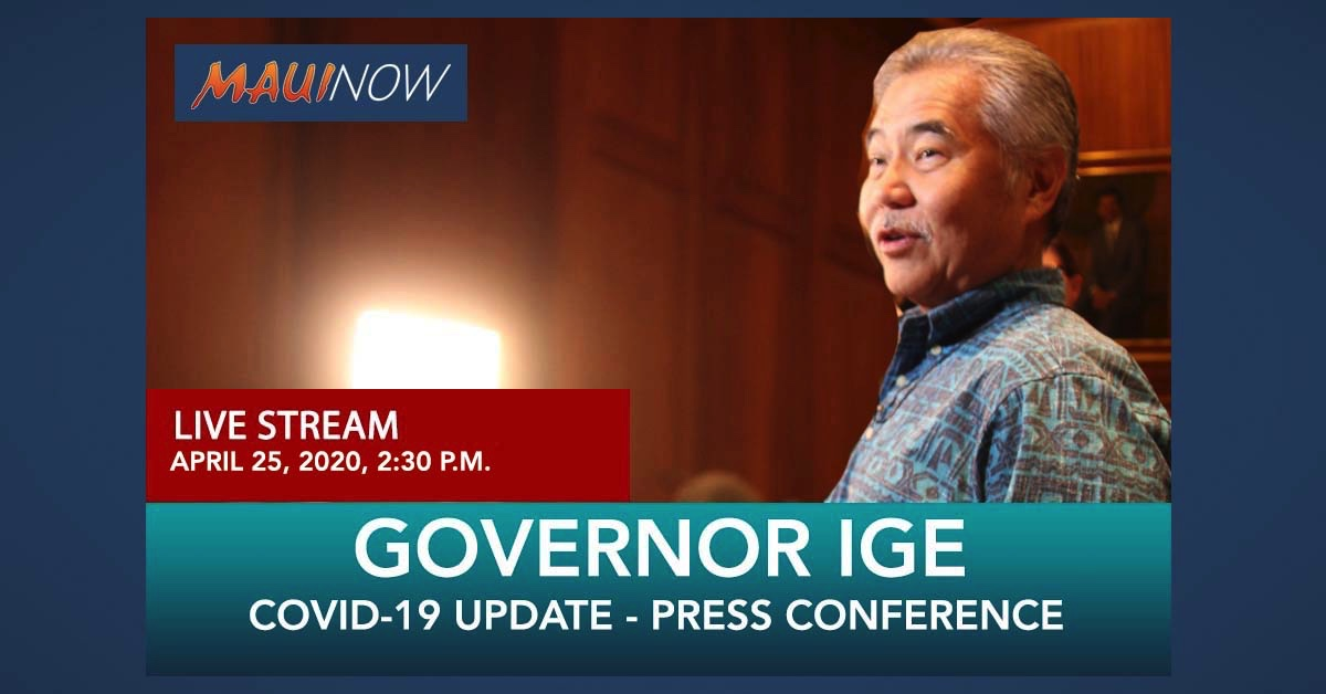 LIVE STREAM: Governor Extends 14-Day Travel Quarantine and Stay-at-Home Order to May 31st