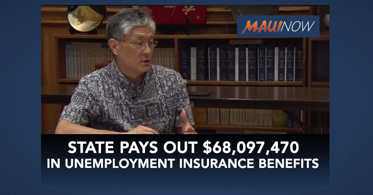 State Pays Out $68,097,470 In Unemployment Insurance Benefits