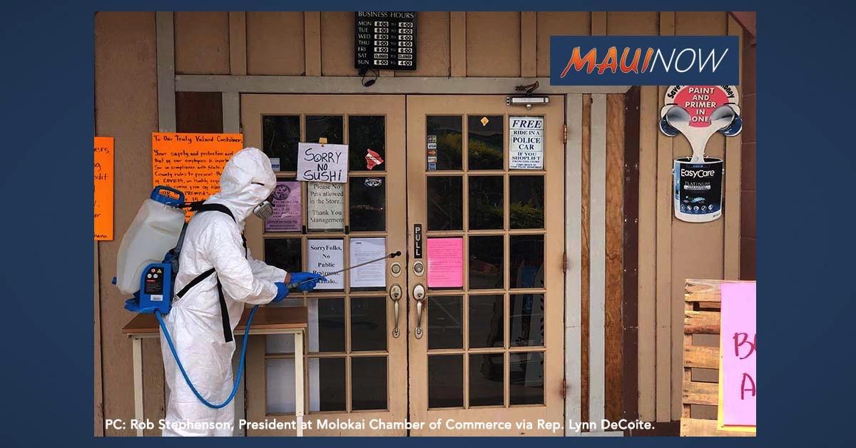 Hāna Town to Undergo Sanitization Effort, New Shopping Procedures to Follow