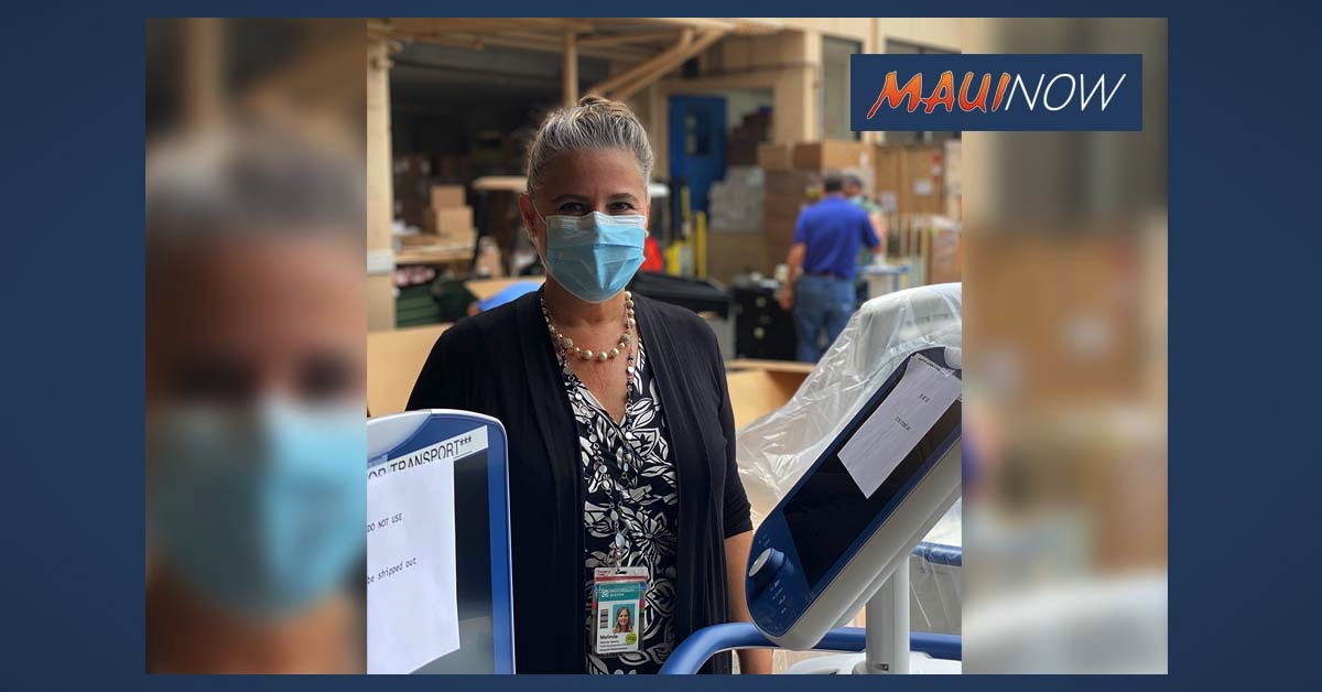 Maui Health Foundation Donates Ventilators to Maui Memorial Medical Center