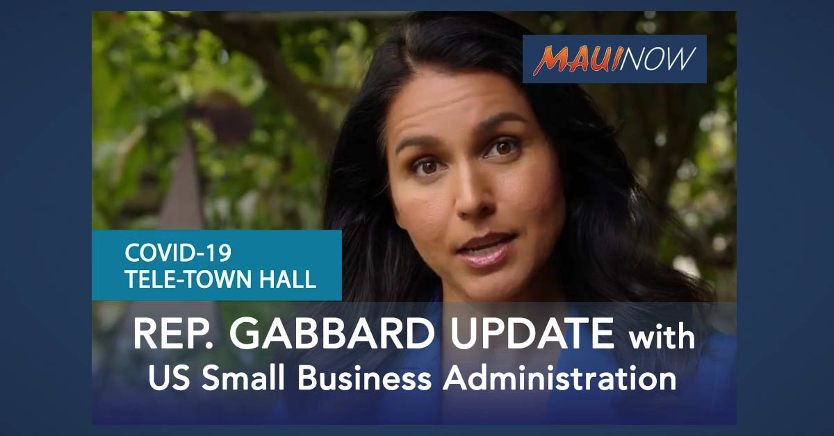AUDIO: Rep. Tulsi Gabbard Tele-Town Hall on Coronavirus Crisis