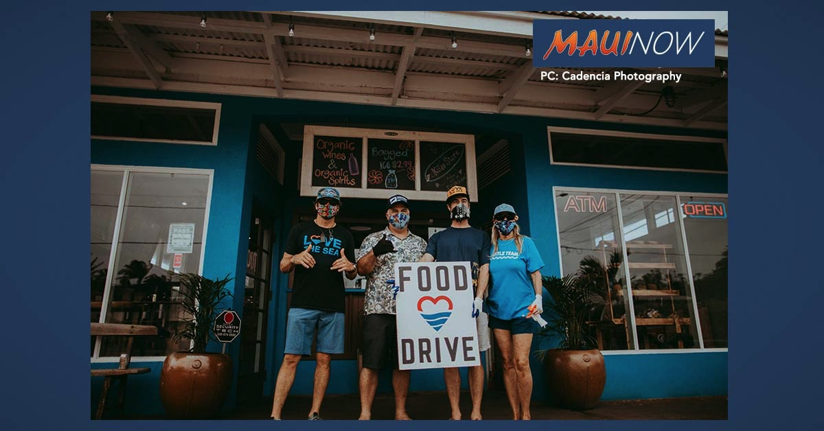 Food Drive at Kūʻau Store Collects 400 Pounds of Food, $700 in 3 Hours
