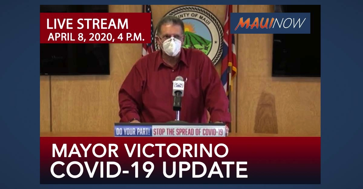 LIVE STREAM: Mayor COVID-19 Update for April 8, 2020, 4 p.m.