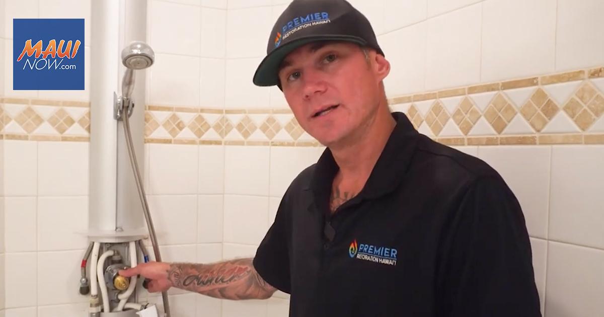 WATCH: Tips on Water Damage Restoration in Hawai'i