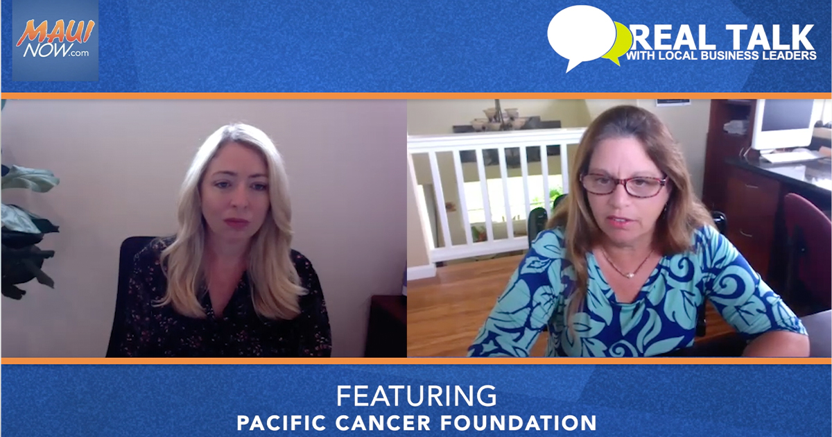 VIDEO: Real Talk with Pacific Cancer Foundation Executive Director, Nancy Le Joy
