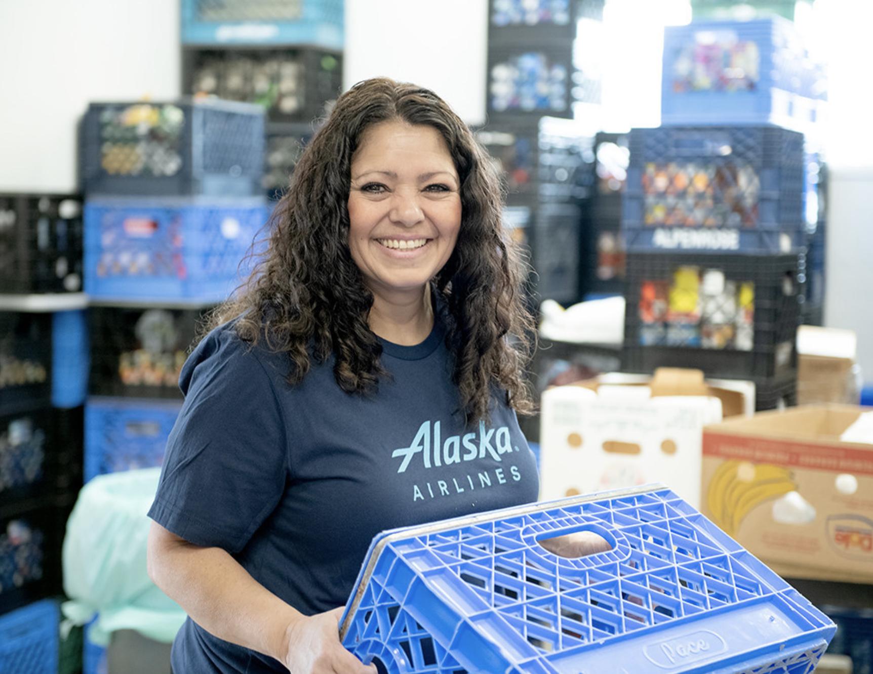 Alaska Airlines #MillionMealsChallenge Reaches Maui Food Bank