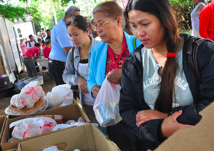 First Hawaiian Bank Drums Up $50K to Feed Those in Need