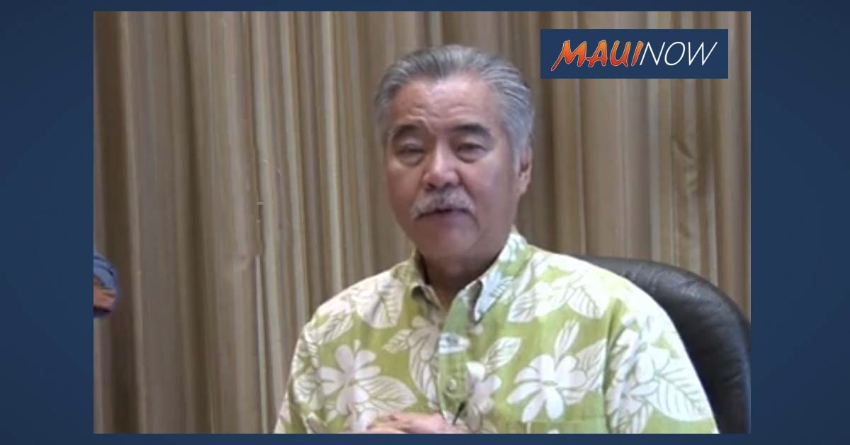 Ige Signs 10th Emergency Proclamation, Officially Extending 14-Day Quarantine for Out-of-State Arrivals