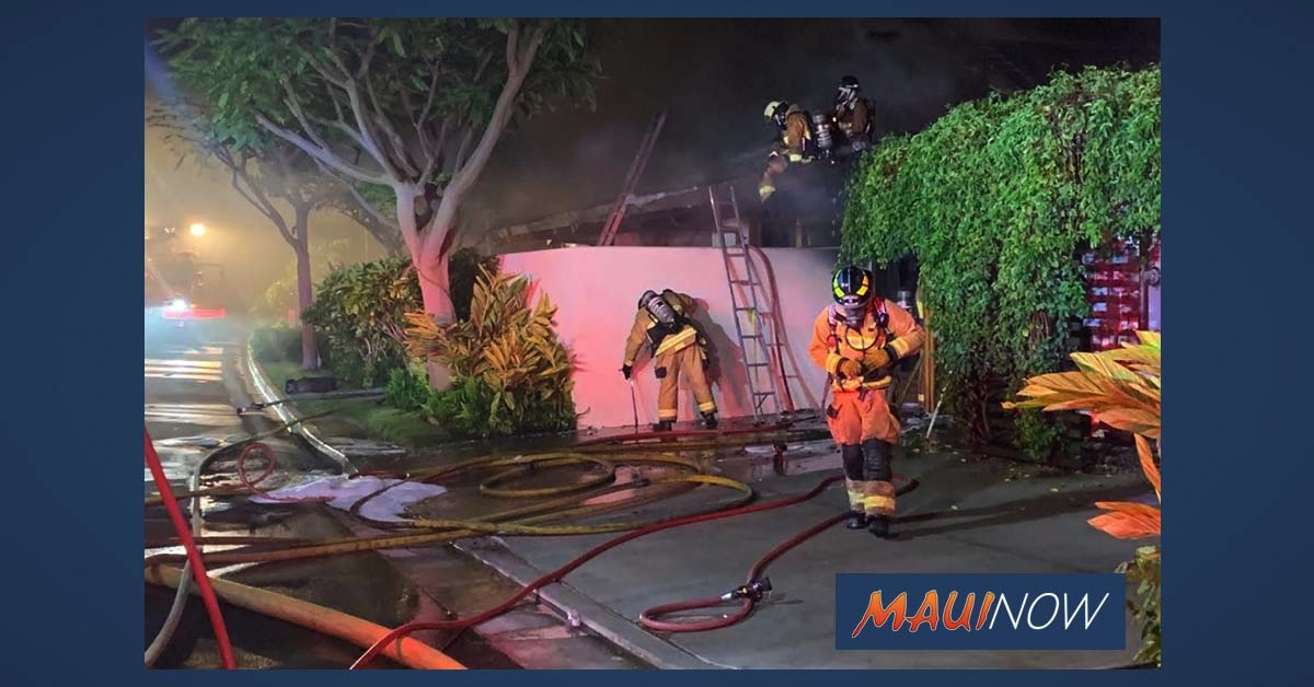 Fire at Luxury Wailea Condo Causes $1.7 Million in Damage