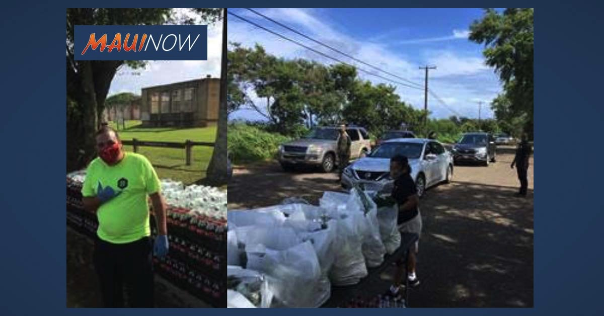 Rotary Clubs in Maui County Support COVID-19 Relief Projects